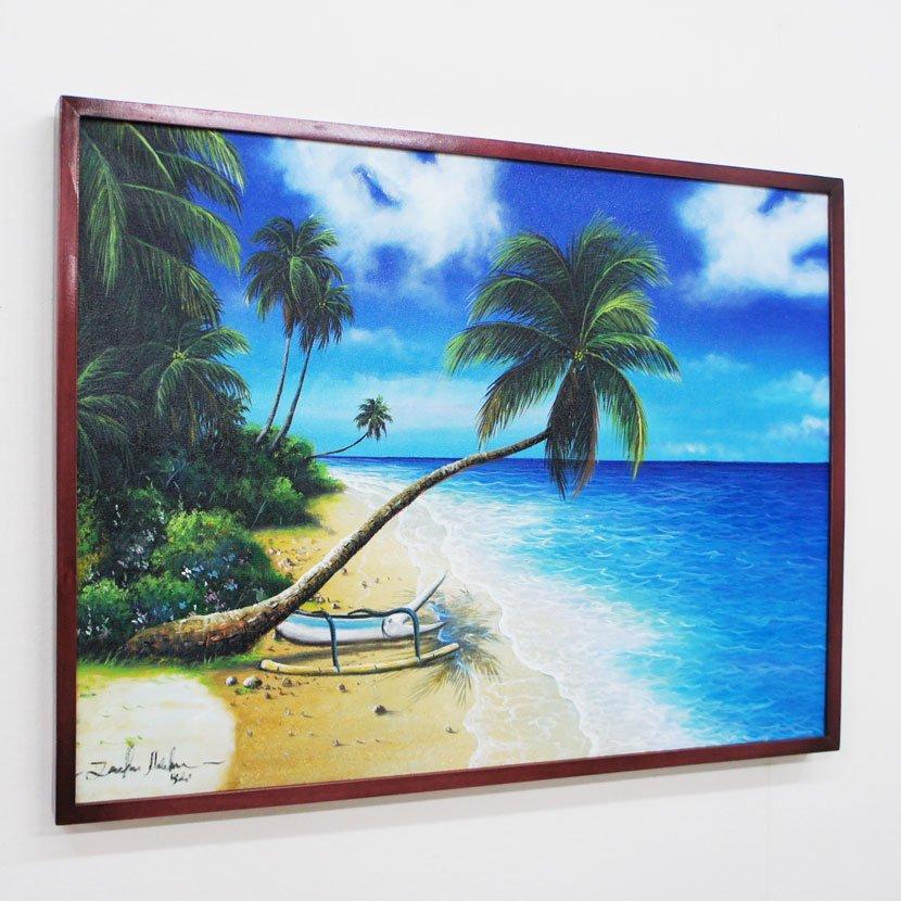 バリ絵画・バリの海/83*63cm/PA-159-26