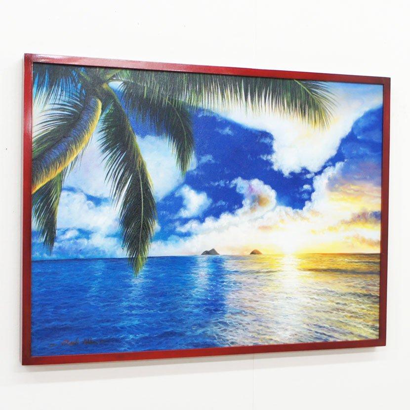バリ絵画・バリの海/83*63cm/PA-159-28