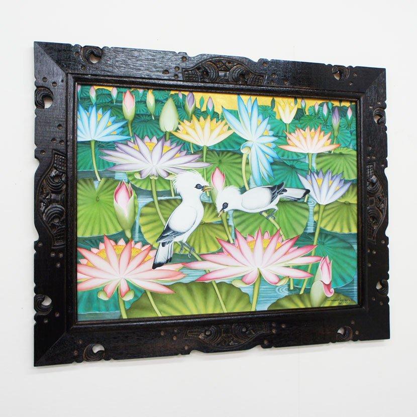 バリ絵画・ブンゴセカン・ハイクラス/100*80cm/PA-017-19