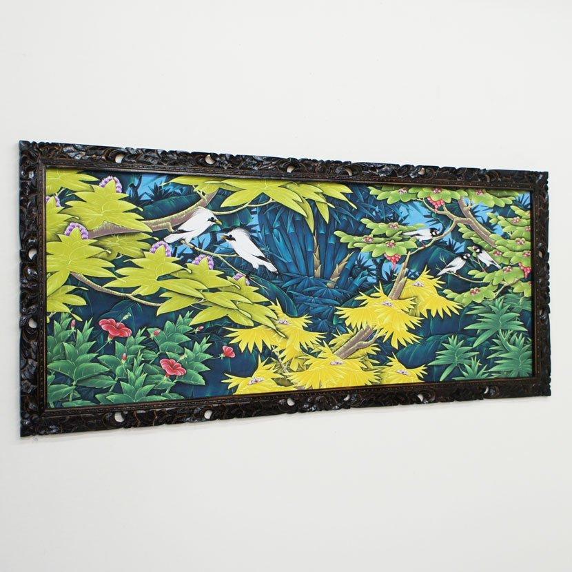 バリ絵画:ブンゴセカン 特大/145*95cm/PA-005-30