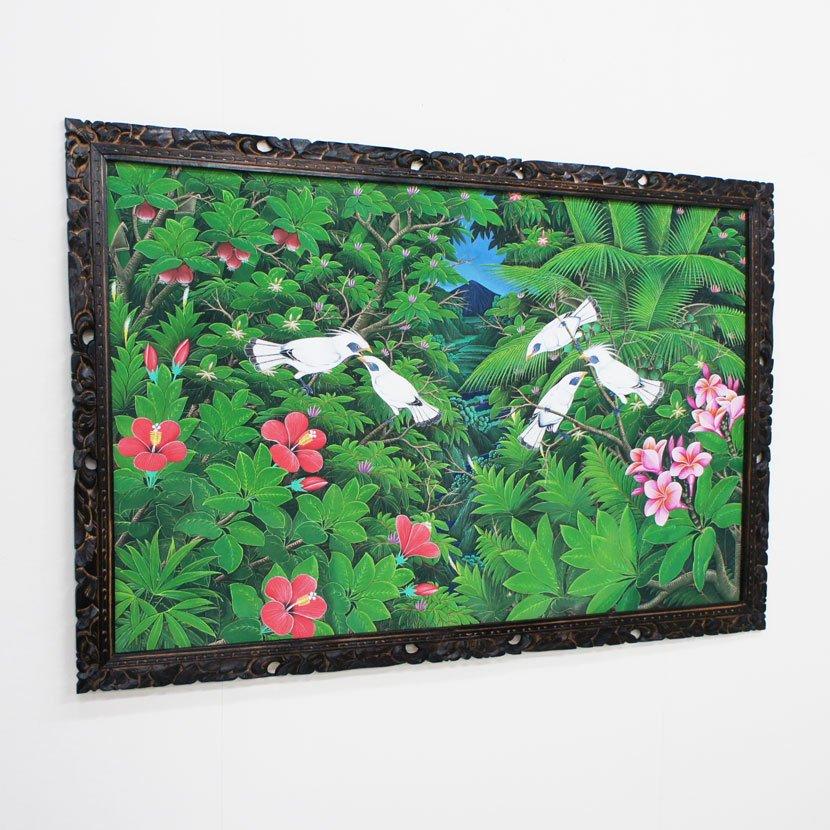 バリ絵画:ブンゴセカン 特大 ハイクラス/145*95cm/PA-006-1