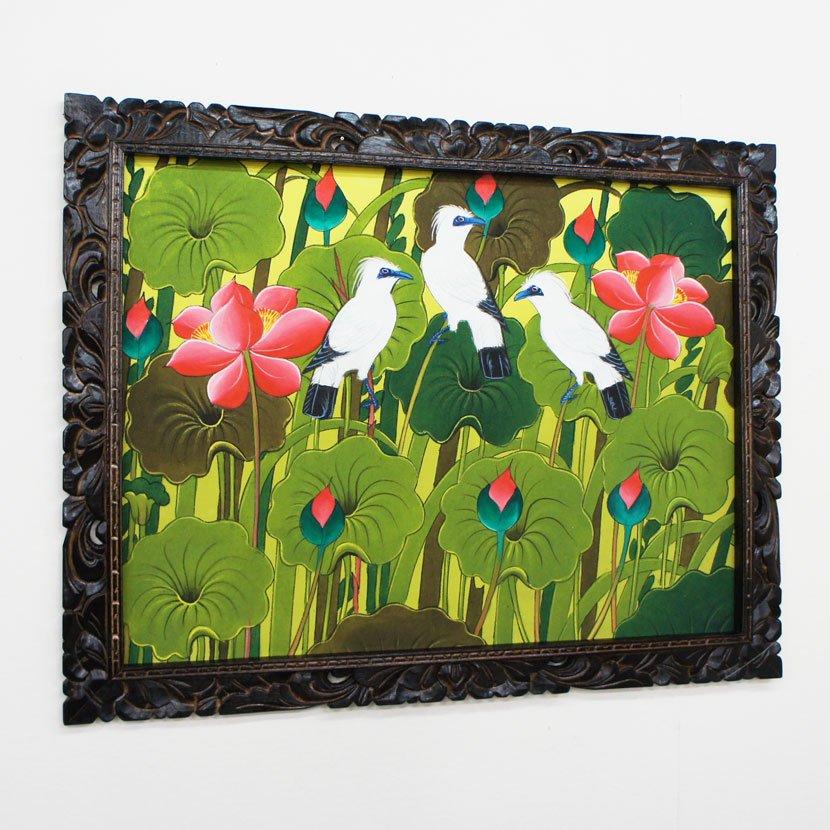 バリ絵画・ブンゴセカン/91*71cm/PA-019-129