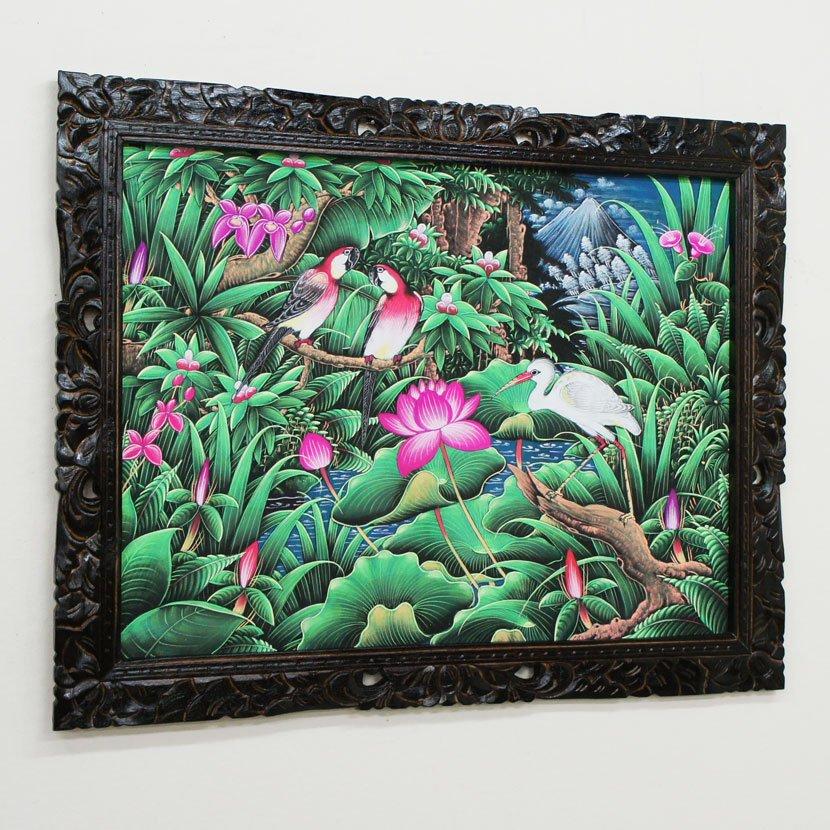 バリ絵画・ブンゴセカン/91*71cm/PA-019-131