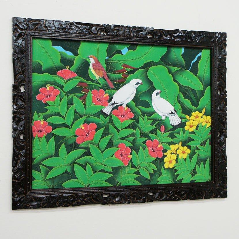 バリ絵画・ブンゴセカン/95*75cm/PA-019-134