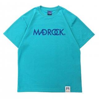 【オンラインストア限定】マッドロックロゴ Tシャツ / ドライタイプ / ミントブルー & クラシックブルー