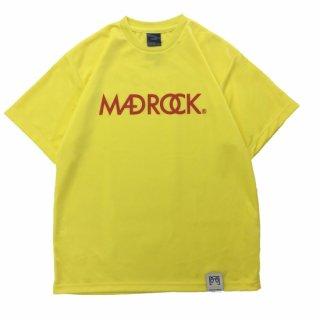 【オンラインストア限定】マッドロックロゴ Tシャツ / ドライタイプ / イエロー & レッド