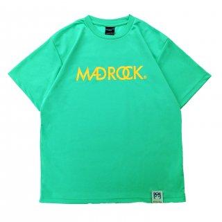 【オンラインストア限定】マッドロックロゴ Tシャツ / ドライタイプ / ミントグリーン & オレンジ