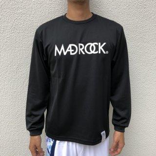 【定番】マッドロック / ロゴ ロンT / ドライタイプ / ブラック&ホワイト