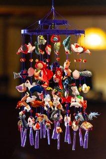 吊るし飾り 2段15本(端午飾り)
