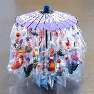 傘飾り(紫)