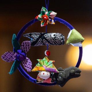 輪飾り(紫)