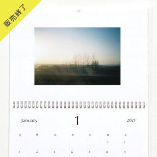 花盛友里 | 壁掛けカレンダー【Quakertown】(2021年1月はじまり)【A3】
