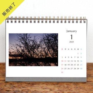 ZARAME | 卓上リングカレンダー(2021年1月はじまり)【2L】