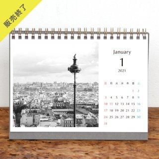 CAORI SOMA | 卓上リングカレンダー(2021年1月はじまり)【2L】