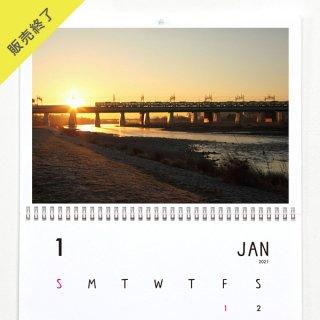 金子美香 | 壁掛けカレンダー(2021年1月はじまり)【A3】