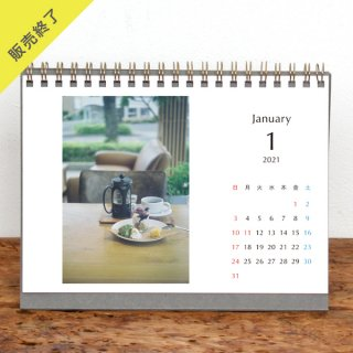 Keiko. | 卓上リングカレンダー(2021年1月はじまり)【2L】