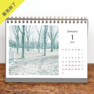 Tamami Yamashita | 卓上リングカレンダー(2021年1月はじまり)【2L】
