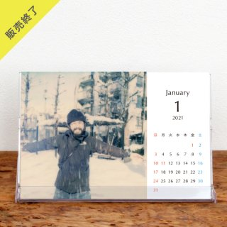 yucco | 卓上カレンダー(2021年1月はじまり)【KG】