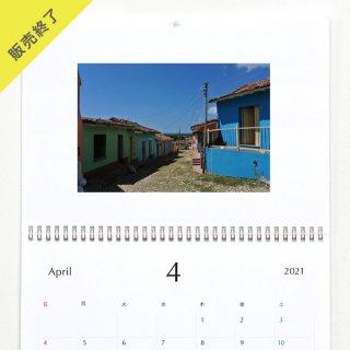 sandia | 壁掛けカレンダー(2021年4月はじまり)【A3】