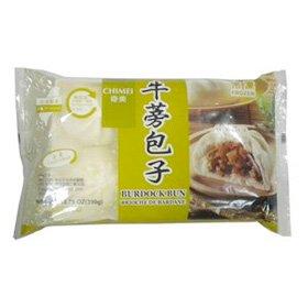台湾素食飯店の本格精進牛蒡まん 65gx6個