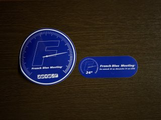 【バックナンバー】FBM2010 ステッカー2種(宿泊者用&当日参加者用)セット(限定100セット)