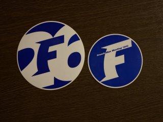 【バックナンバー】FBM2012 ステッカー2種(宿泊者用&当日参加者用)セット(限定50セット)