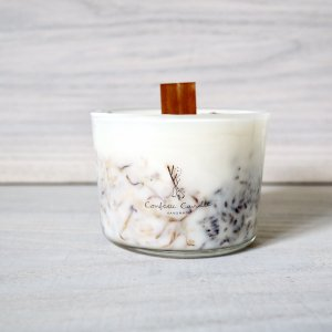 Confetti Candle Soy glass harb キャンドル