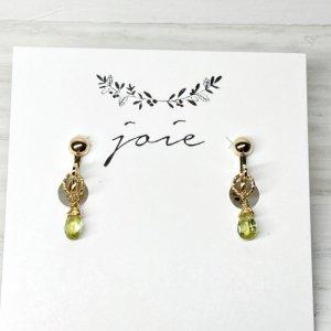 joie ペリドットのイヤリング i1