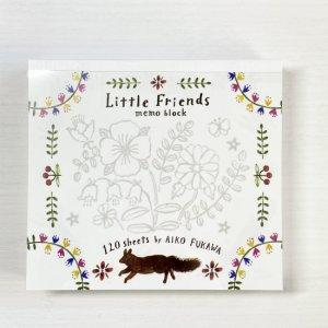 布川 愛子 Aiko Fukawa ブロックメモ Little Friends