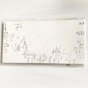 猪熊 弦一郎 便箋 「創造の広場」
