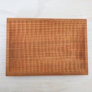 icura工房-筒井則行 角皿/小 ほりほり (さくら)