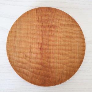 icura工房-筒井則行 丸皿/小 175� ほりほり (さくら)