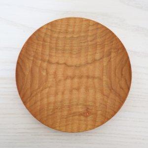 icura工房-筒井則行 丸小皿/145� ほりほり (さくら)