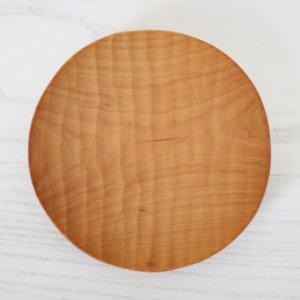 icura工房-筒井則行 丸小皿/125� ほりほり (さくら)
