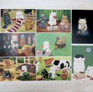 カマノレイコ ポストカード PostCard #1〜8