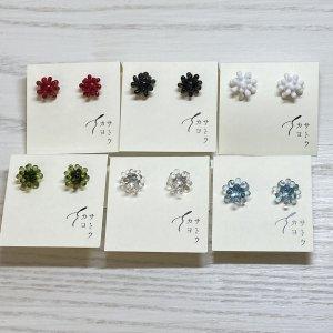 サトウカヨ sea anemone ピアス