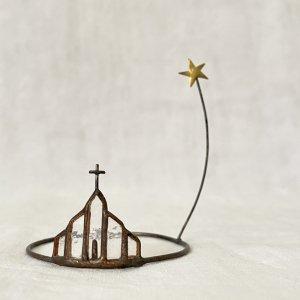 caco 小さな世界 教会と星