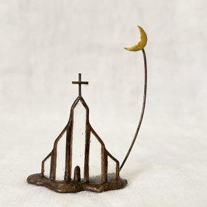 caco オブジェ 教会と月(32)