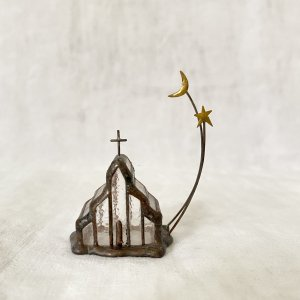 caco オブジェ 教会と月と星