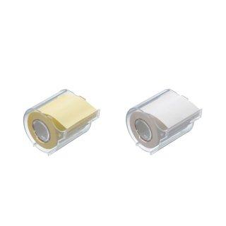 メモックロールテープ 再生紙 50mm幅 カッター付(1巻入)