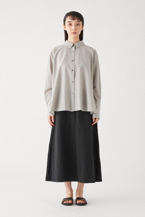 cotton/linen seemed skirt