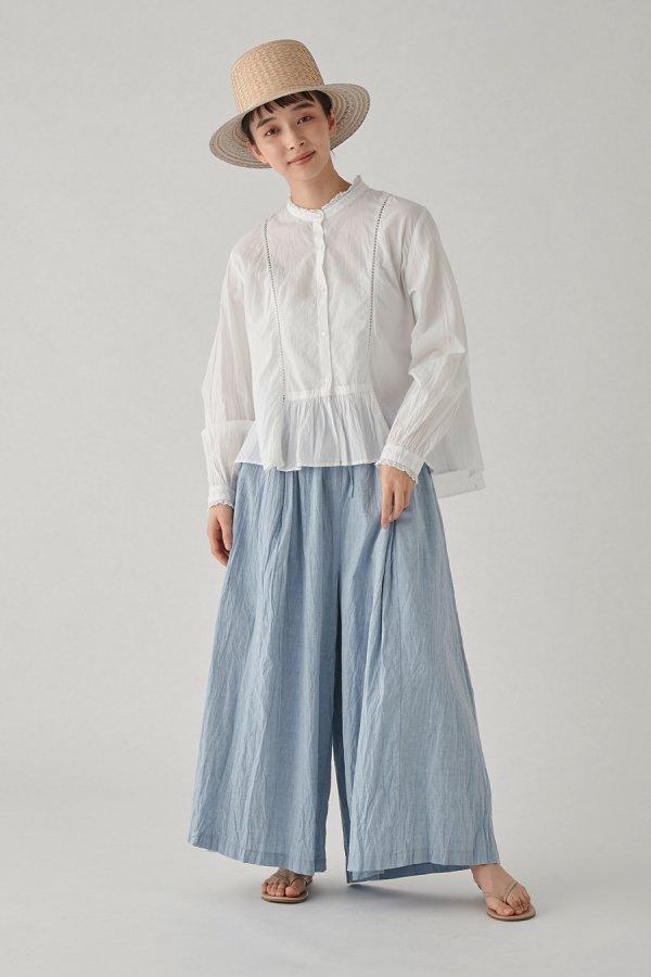 torsion lace shirt