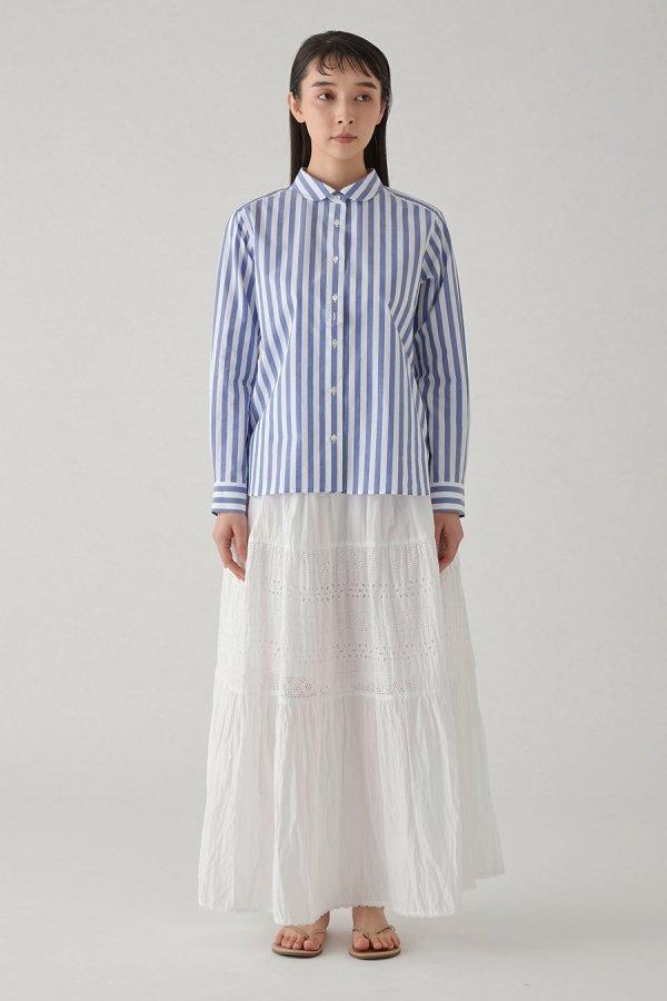 【リンネル掲載】torsion lace flare skirt
