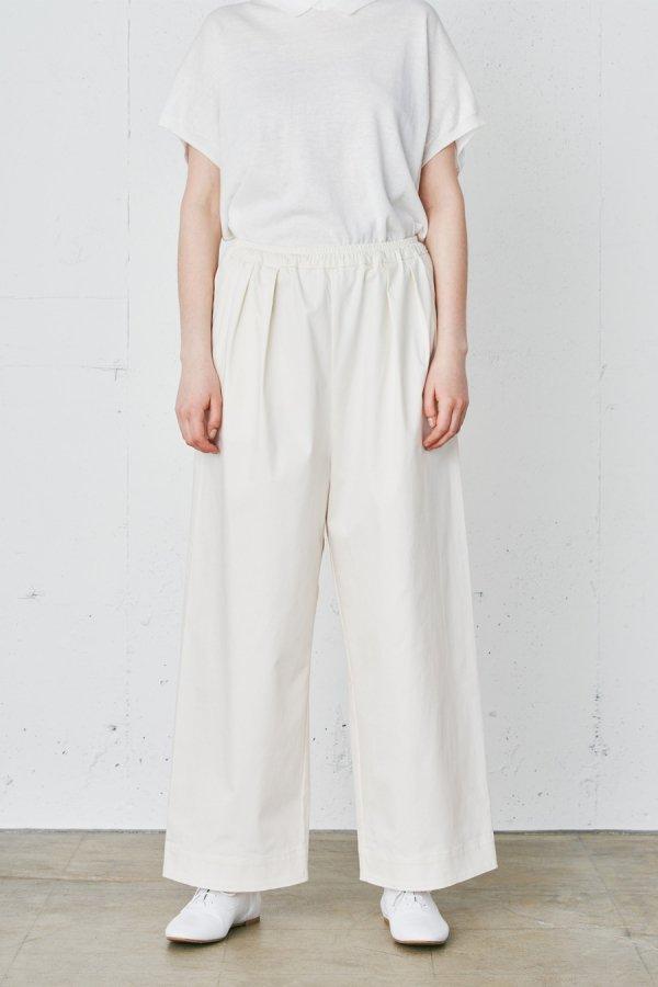 basic easy wide pants