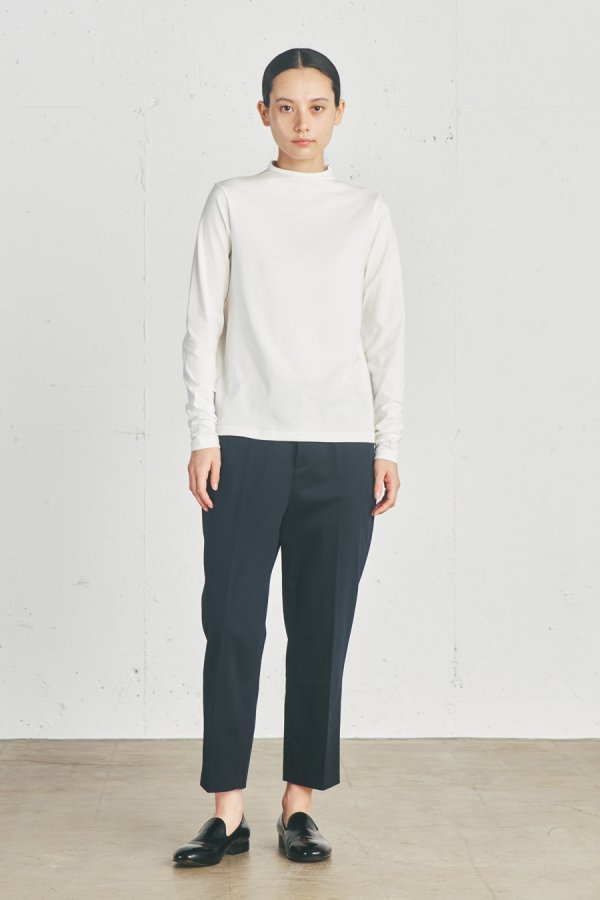 high neck pull over