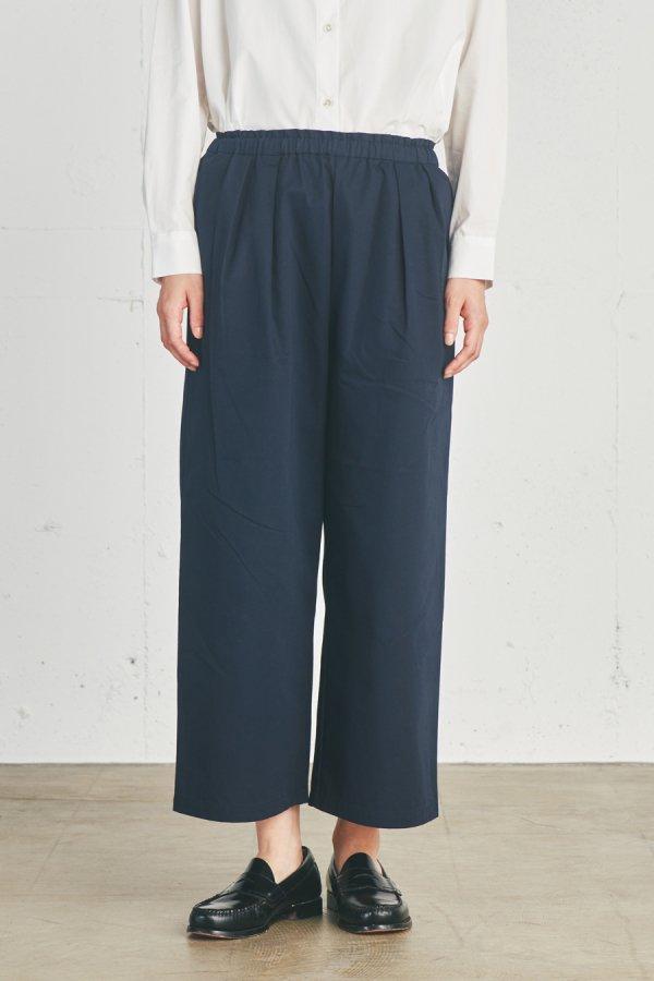 【リンネル掲載】basic easy wide pants
