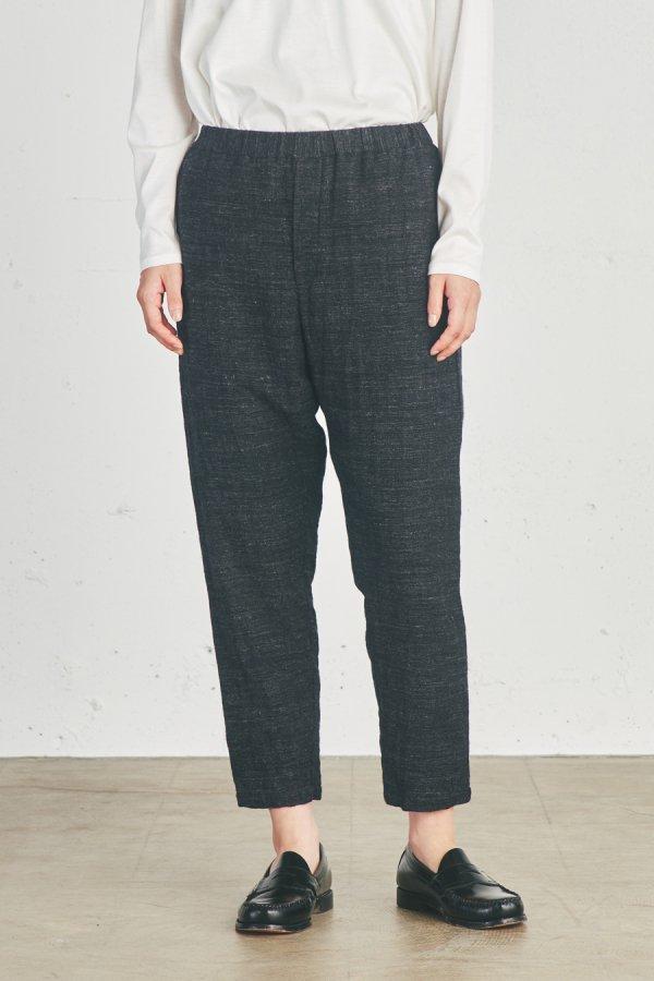 wool blend easy pants
