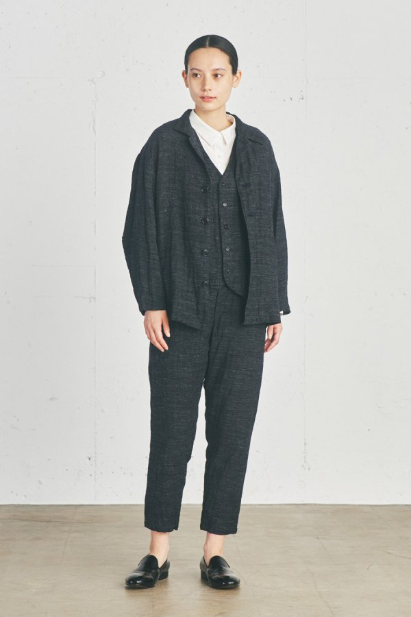 <img class='new_mark_img1' src='https://img.shop-pro.jp/img/new/icons8.gif' style='border:none;display:inline;margin:0px;padding:0px;width:auto;' />wool blend stand collar jacket
