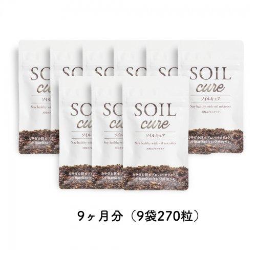 SOILcureファミリーバリューパック9ヵ月分(9袋270粒)