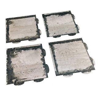 PEPATAMAシリーズ F-015 ペーパージオラマ ジョイントマット コンクリート板A 【ネコポス配送対応】【C】